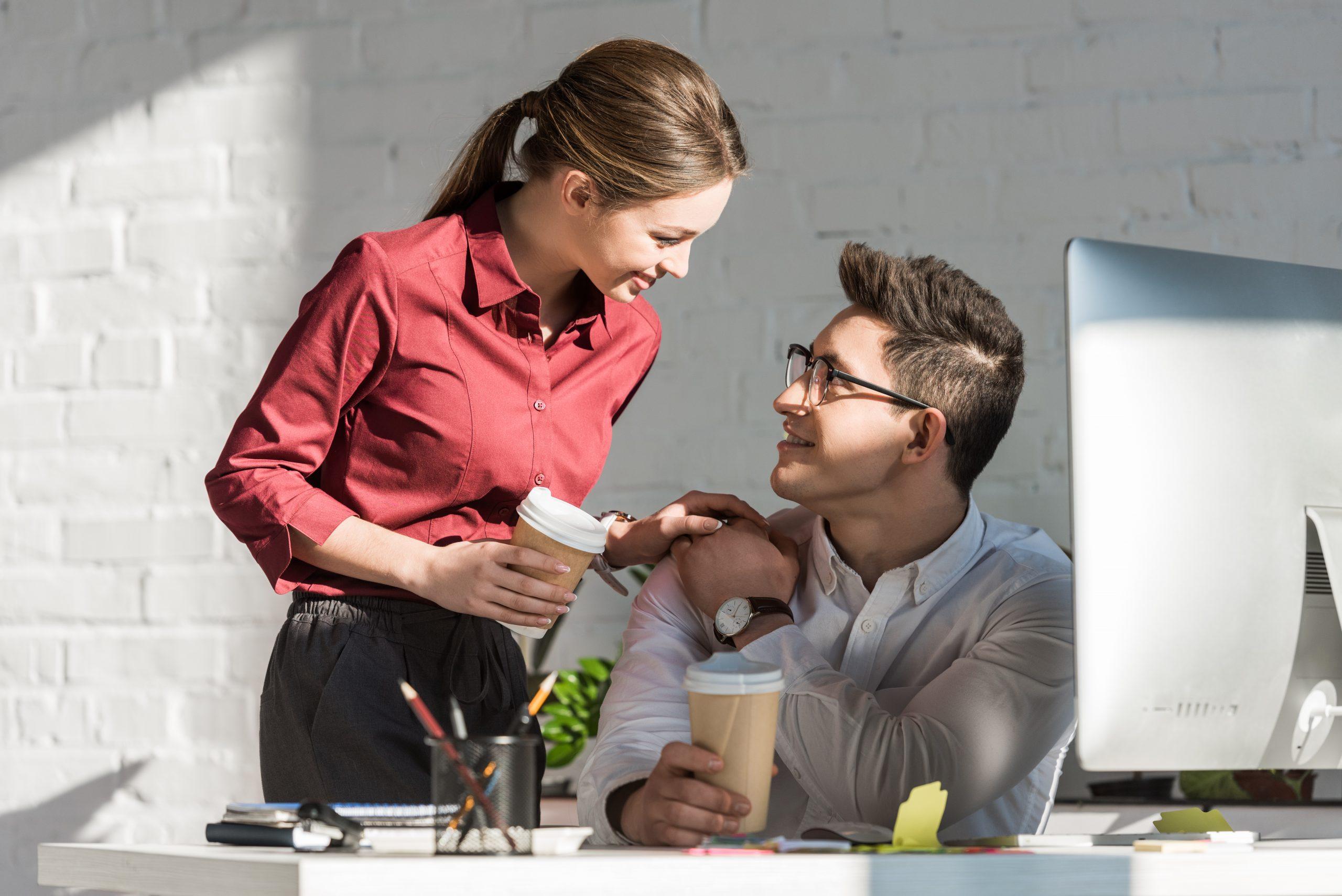 Liebe am Arbeitsplatz - Flirt.de News