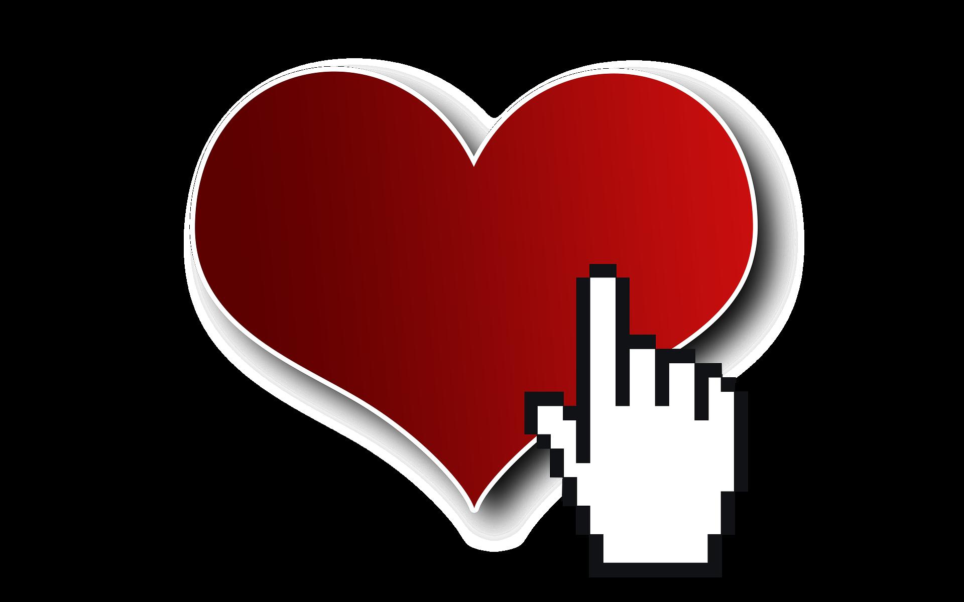 Herz mit Cursor