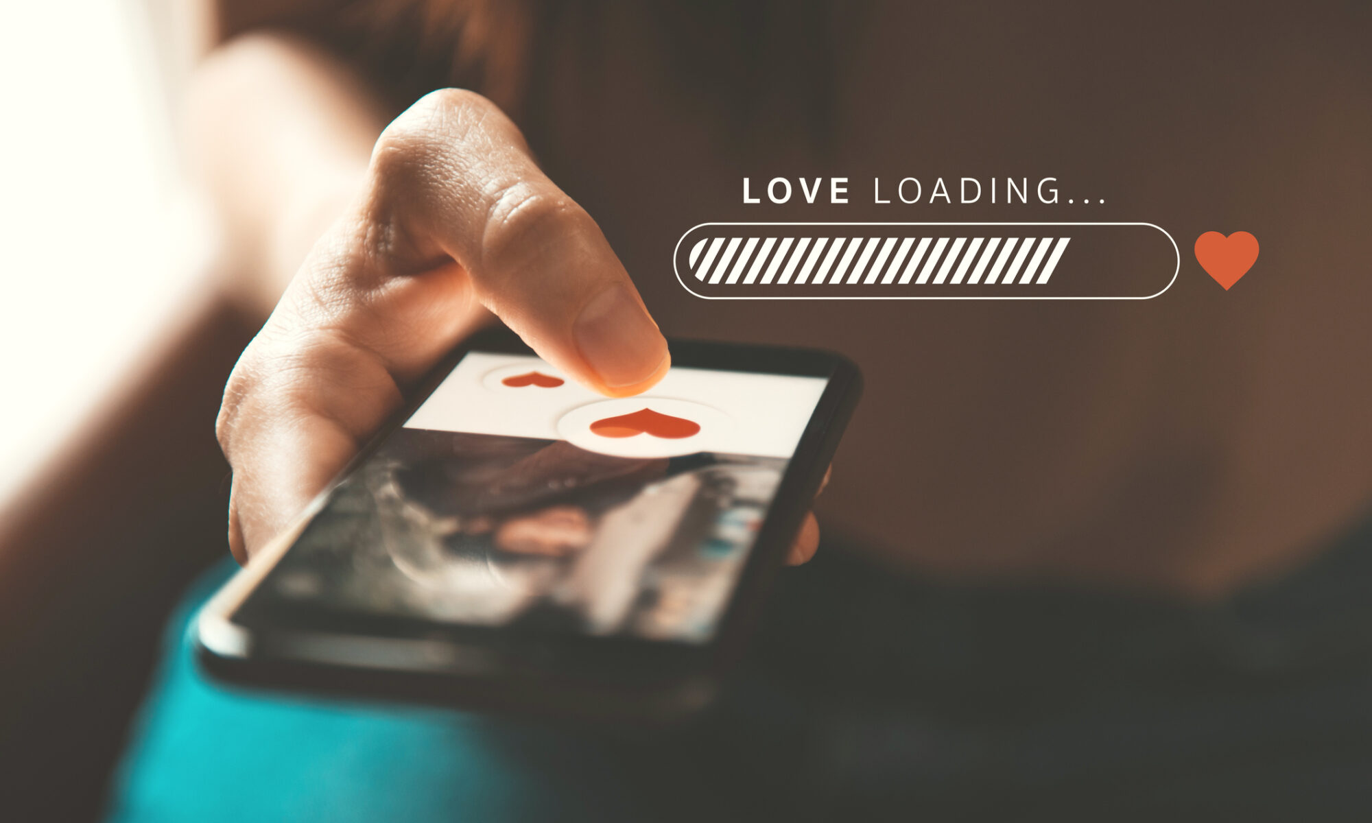 Online Dating mit dem Smartphone